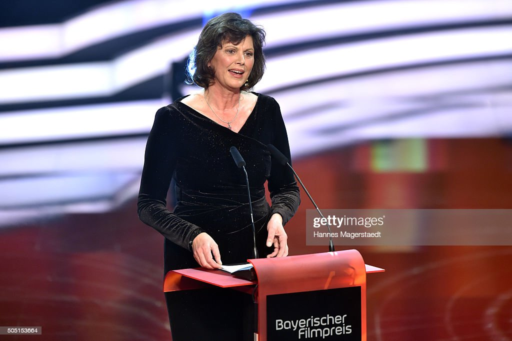 <a gi-track='captionPersonalityLinkClicked' href=/galleries/search?phrase=Ilse+Aigner&family=editorial&specificpeople=2158567 ng-click='$event.stopPropagation()'>Ilse Aigner</a> during the Bavarian Film Award 2016 show at Prinzregententheater on January 15, 2016 in Munich, Germany.