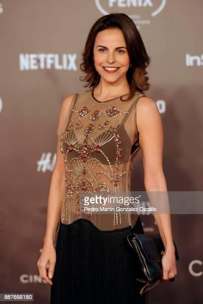 Ilse Salas poses during Fenix Iberoamerican Film Awards 2017 at Teatro de La Ciudad on December 06 2017 in Mexico City Mexico