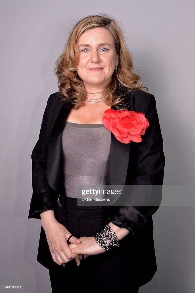 Ilse Somers director of the movie poses during the Antwerp premiere of 'Weekend At The Sea' (Weekend Aan Zee) at Metropolis on April 18, 2012 in Antwerpen, Belgium.