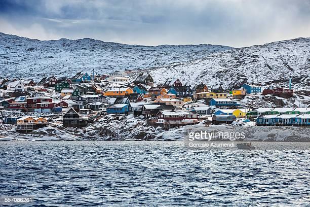 Ilulissat Village in Greenland