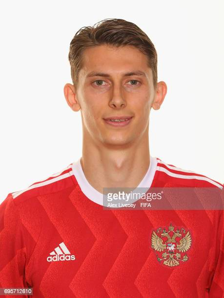 Ilya Kutepov of Russia during a portrait session at the Lotte Hotel on June 13 2017 in Moscow Russia