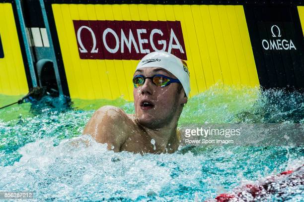 Ilya Shymanovich of Belarus during the FINA Swimming World Cup Men's 50m Freestyle Final on October 01 2017 in Hong Kong Hong Kong