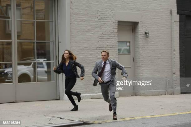 THE BLACKLIST 'Ilyas Surkov ' Episode 505 Pictured Megan Boone as Elizabeth Keen Diego Klattenhoff as Agent Donald Ressler