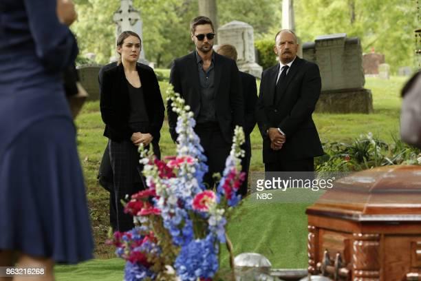 THE BLACKLIST 'Ilyas Surkov ' Episode 505 Pictured Megan Boone as Elizabeth Keen Ryan Eggold as Tom Keen