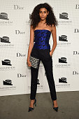 Imaan Hammam attends the Guggenheim International Gala PreParty made possible by Dior on November 5 2014 in New York City