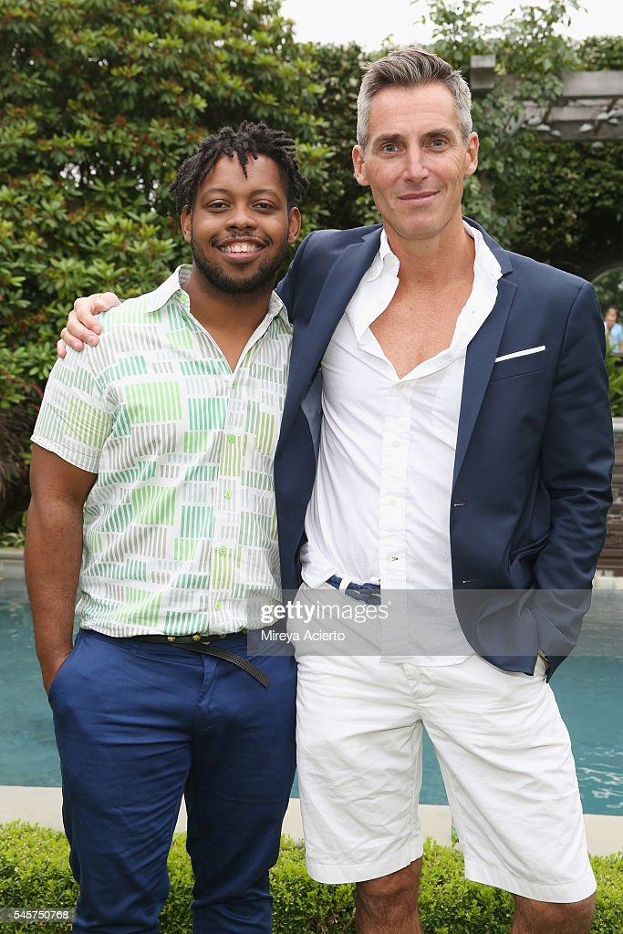 Image and branding manager of Wilhelmina International Inc Kendall Werts and chief executive officer of Wilhelmina International Inc Bill Wackermann...