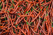 Image for use as background full of red pepper
