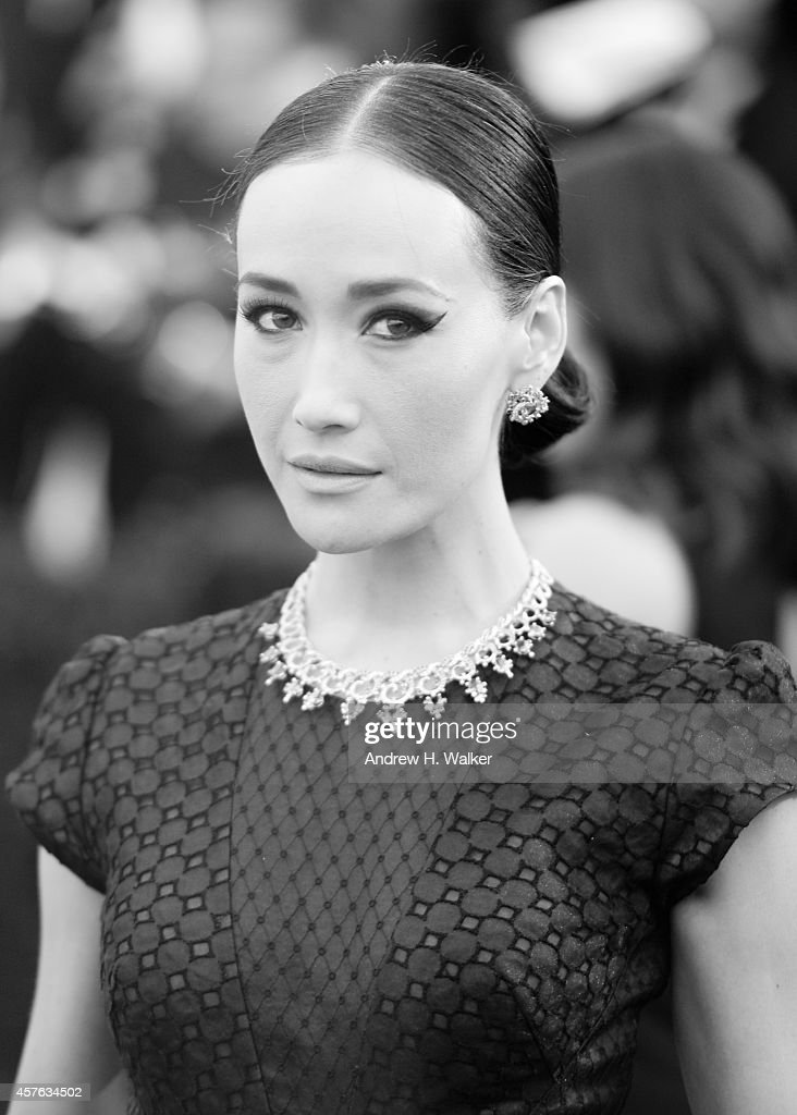 Image has been digitally processed] Actress <a gi-track='captionPersonalityLinkClicked' href=/galleries/search?phrase=Maggie+Q&family=editorial&specificpeople=555127 ng-click='$event.stopPropagation()'>Maggie Q</a> attends the 'Charles James: Beyond Fashion' Costume Institute Gala at the Metropolitan Museum of Art on May 5, 2014 in New York City.