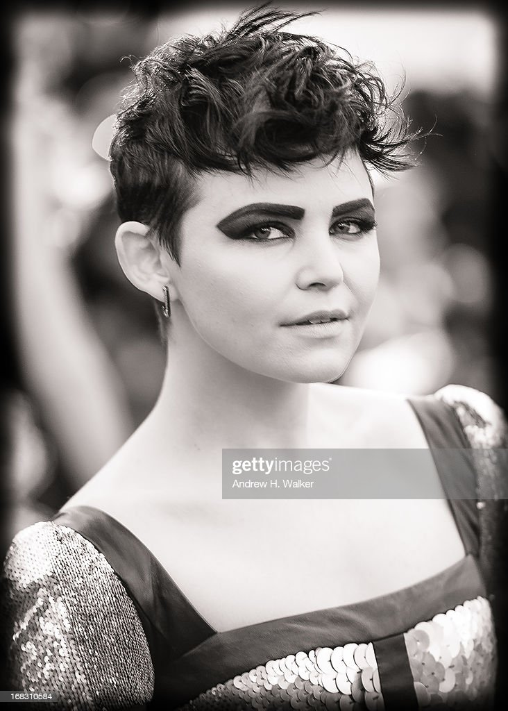image has been digitally processed and converted to black and white] Ginnifer Goodwin attends the Costume Institute Gala for the 'PUNK: Chaos to Couture' exhibition at the Metropolitan Museum of Art on May 6, 2013 in New York City.