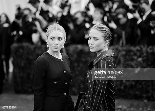 Image has been digitally processed] Ashley Olsen and Mary Kate Olsen attend the 'Charles James Beyond Fashion' Costume Institute Gala at the...