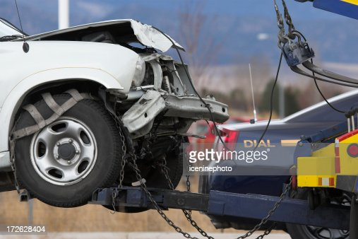Towing Vehicle Stock Photos And Pictures Getty Images