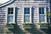 Image of a House, Front View, United State of America, Nantucket Island