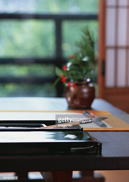 Image of a Japanese art of calligraphy
