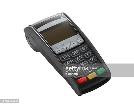 Image of a turned off credit card reader