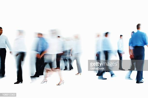 Image of business colleagues walking