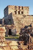 Image of 'El Castillo' ruins in Tulum, Mexico