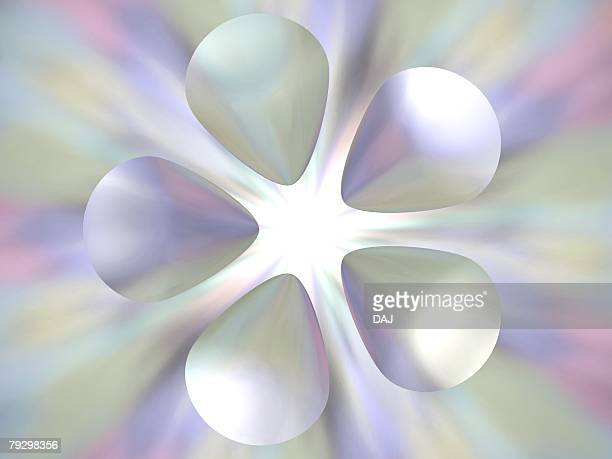Image of five petaled flower