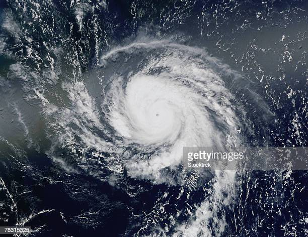 Image of hurricane in Atlantic Ocean