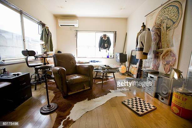 Image of Japanese man's apartment