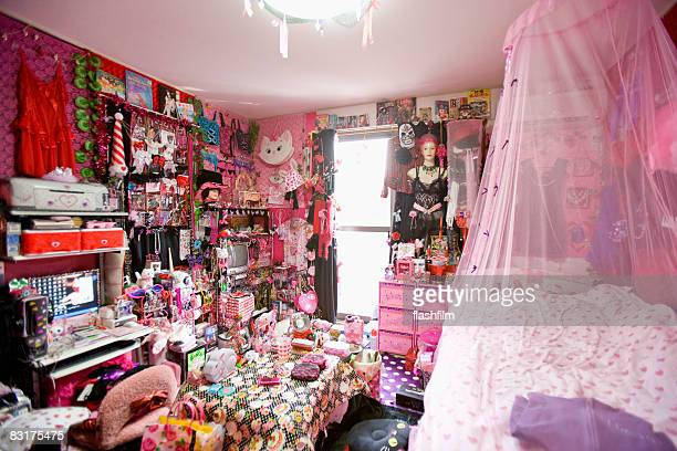 Image of Japanese woman's bedroom