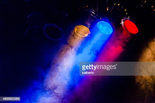 image of real concert lighting : Stock Photo