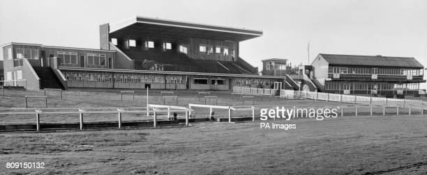 Image of the new stand built at a total cost of 30000 on the popular National Hunt racecourse at Market Rasen Lincolnshire The stand can accommodate...