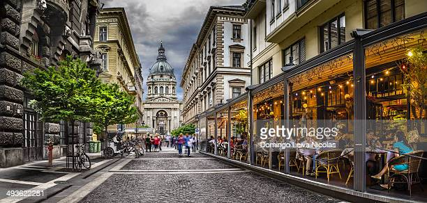 CONTENT] Image with St Stephen Square Saint Stephen Basilica the lartgest Budapest cathedral built as Roman Catholic basilica Hungary landmark