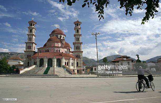 Images of Albania | Square in Korcha