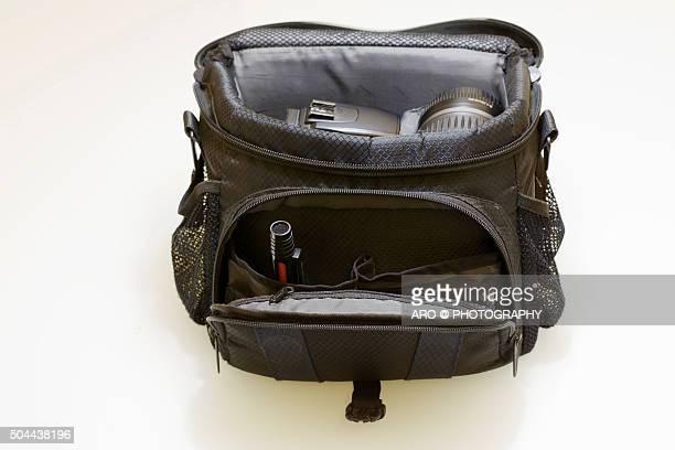 Images of generic camera bags.