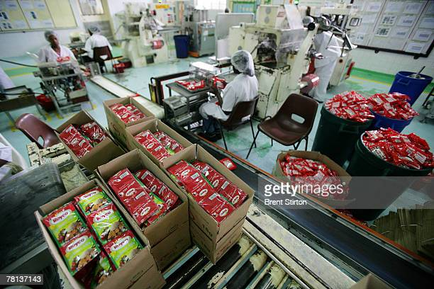 Images of Unilever's herb and spice processing and packaging facility September 13 2007 in Nairobi Kenya