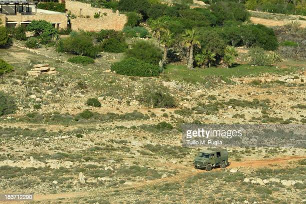 Images taken from a AB412 helicopter with the Second Regiment SIRIO of the Italian Army show Italian Army units take part in the search and rescue...