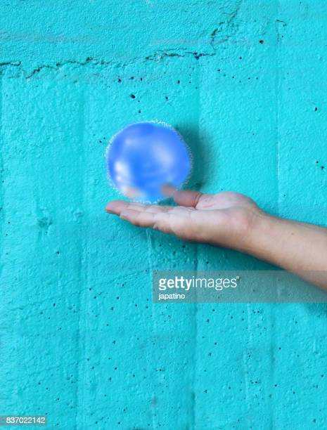Imaginary games. Contact ball
