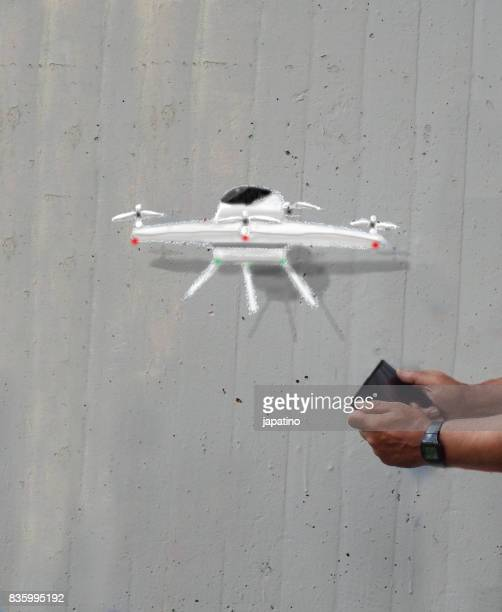 Imaginary games. Drone
