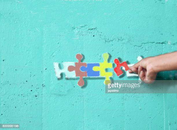 Imaginary games. Puzzle