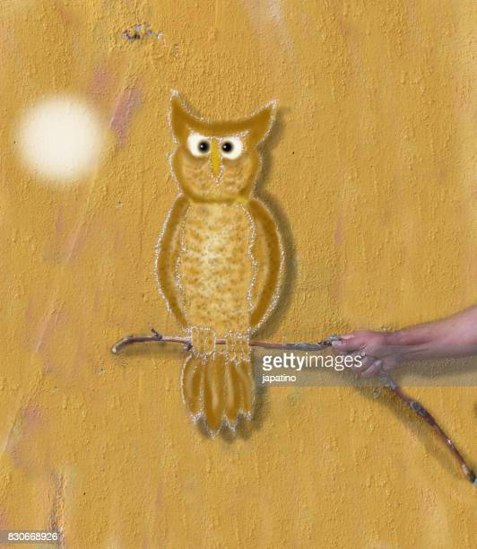 Imaginary games. Real owl
