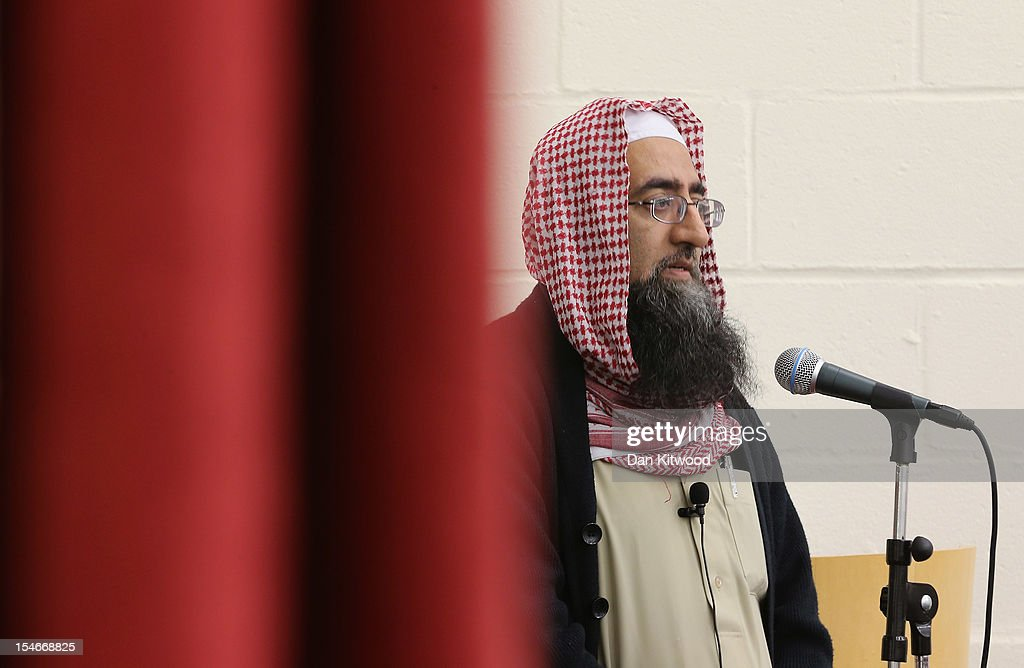 Imam Muhammed Saleem leads a prayer at the Harlow Islamic Centre for the family of Sabah Usmani and her five children, who were killed in a house fire on October 24, 2012 in Harlow, England. Dr Sabah Usmani and her sons Sohaib, 11, and Rayyan, 6, and daughter Hira, 13, died in a house fire in Harlow on October 15. Her other son, Muneeb, 9, and daughter Maheen, 3, both died later in hospital. Her husband, who was released from hospital last week, lead the funeral at Harlow Islamic Centre, which was attended by some 200 mourners.