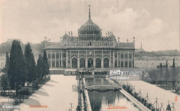 Imambara Lucknow' circa 1900 The Hussainabad Imambara or Chota Imambara stands near the Bara Imambara complex in Lucknow the capital city of the...