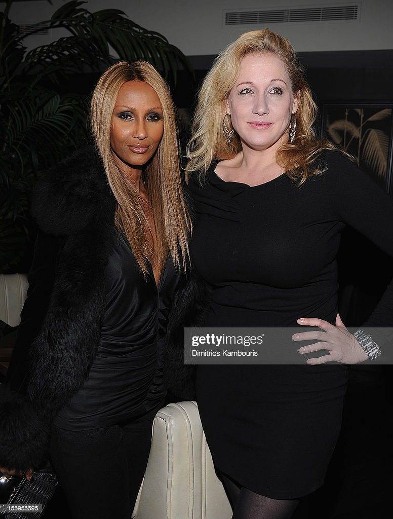 <a gi-track='captionPersonalityLinkClicked' href=/galleries/search?phrase=Iman+-+Fashion+Model&family=editorial&specificpeople=132463 ng-click='$event.stopPropagation()'>Iman</a> and <a gi-track='captionPersonalityLinkClicked' href=/galleries/search?phrase=Amy+Sacco&family=editorial&specificpeople=215138 ng-click='$event.stopPropagation()'>Amy Sacco</a> attend the after party for the Gato Negro Films & The Cinema Society screening of 'Hotel Noir' at No. 8 on November 9, 2012 in New York City.
