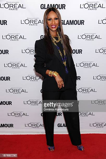 Iman attends Glamour's 23rd annual Women of the Year awards on November 11 2013 in New York City
