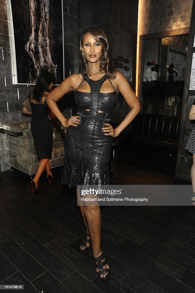 Iman attends the Destination Iman Website Launch Party at Dream Downtown on September 7, 2012 in New York City.