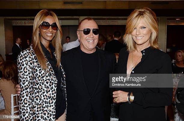 Iman designer Michael Kors and model Patti Hansen attend The Couture Council of The Museum at the Fashion Institute of Technology hosted luncheon...
