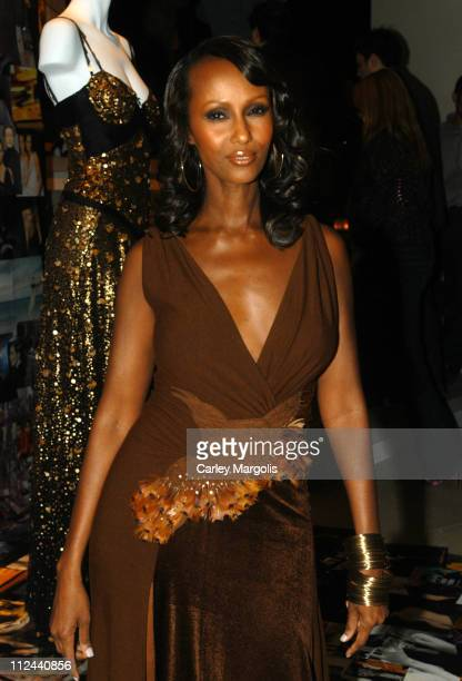 Iman during Donna Karan Celebrates the First Twenty Years with the Launch of 'The Journey of a Woman 20 Years of Donna Karan' at Donna Karan New York...