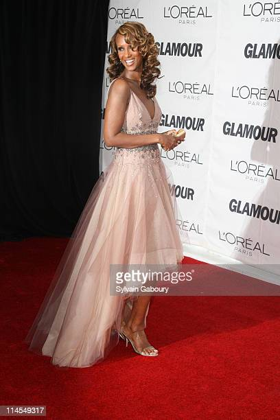 Iman during Glamour Magazine 2006 Women of the Year Awards Inside Arrivals at Carnegie Hall at 154 West 57th Street at 7th Avenue in New York City...