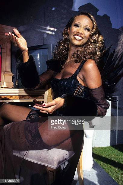 Iman during Iman Launches New Cosmetics Range at Selfridges at Selfriges in London in London Great Britain