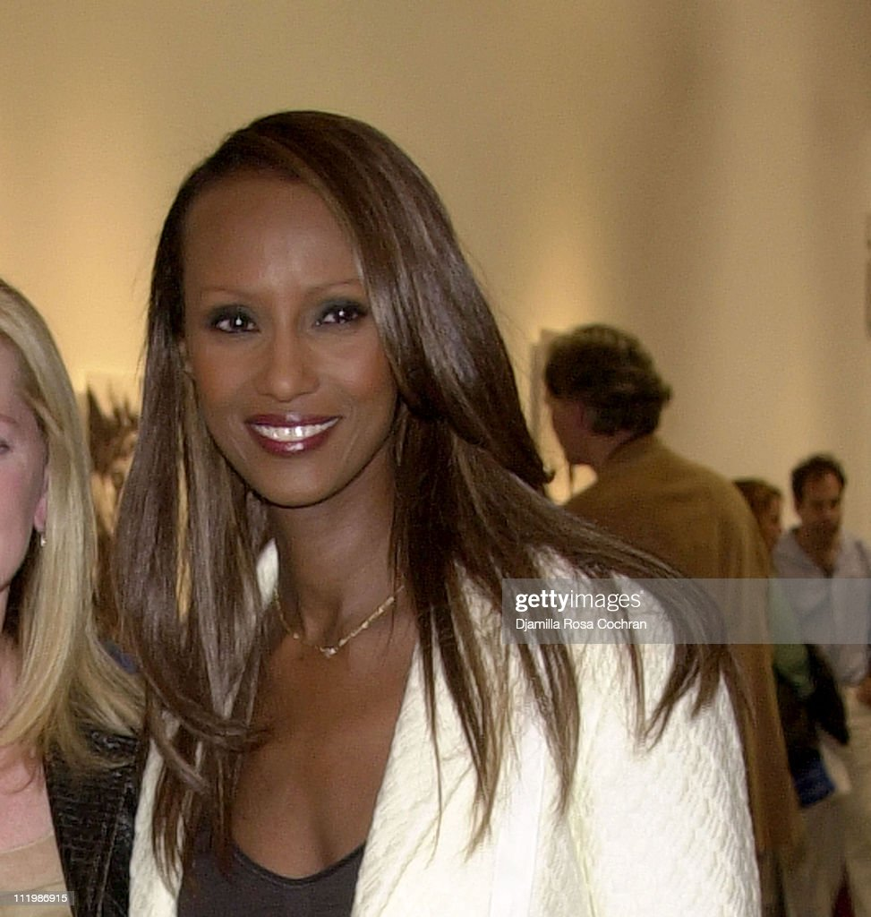 Iman during Interview and Adidas Host a Party for Lou Reed's Photo Book at Cooper Classics Collection in New York City, New York, United States.