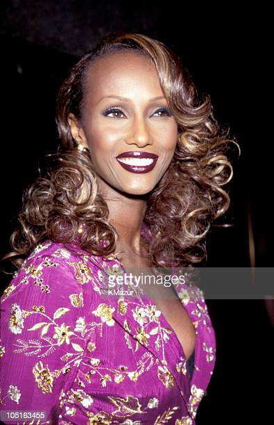 Iman during The 2nd Annual GQ Men of the Year Awards at Radio City Music Hall in New York City New York United States