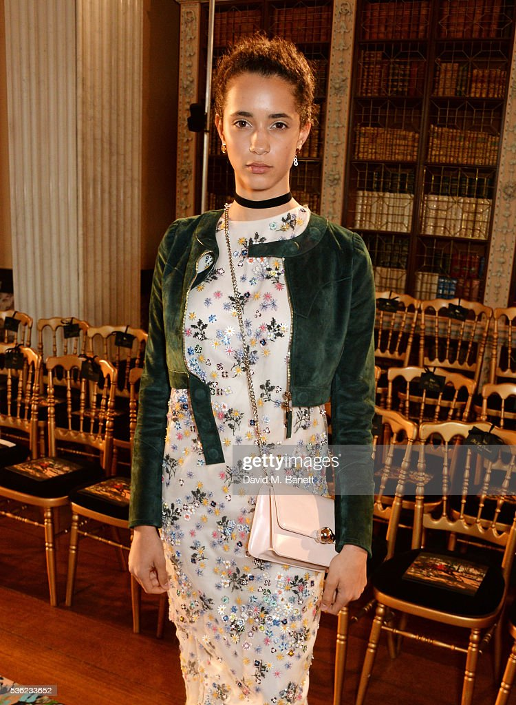 Iman Perez attends as Christian Dior showcases its spring summer 2017 cruise collection at Blenheim Palace on May 31, 2016 in Woodstock, England.