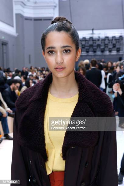 Iman Perez attends the Chloe show as part of the Paris Fashion Week Womenswear Fall/Winter 2017/2018 on March 2 2017 in Paris France