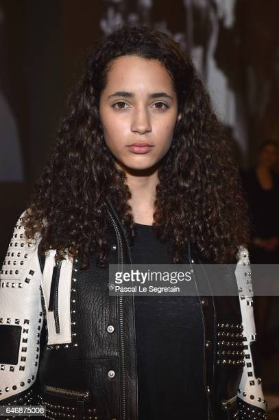Iman Perez attends the HM Studio show as part of the Paris Fashion Week on March 1 2017 in Paris France