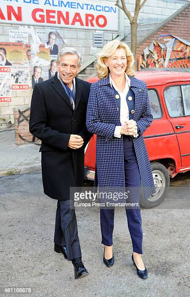 Imanol Arias and Ana Duato attend 'Cuentame Como Paso' 15th season presentation on January 7 2015 in Madrid Spain